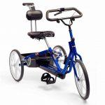 Велосипед, адаптированный для детей с ДЦП, рост 98-116см